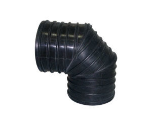 100MM 90° CORRUGATED ELBOW