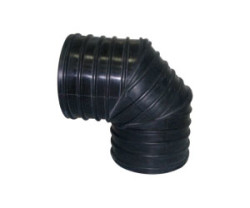 - 100MM 90° CORRUGATED ELBOW