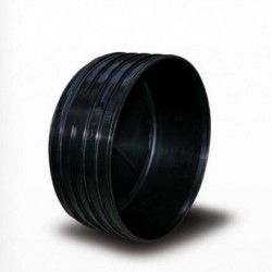 - 100MM CORRUGATED END CAP