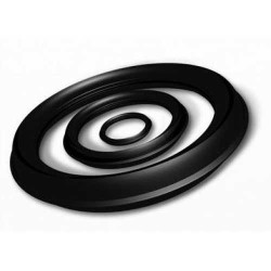 - 100MM CORRUGATED RUBBER RING