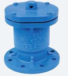 - 100MM PN 10-16 SINGLE GLOBE AIR VALVE