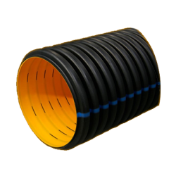 - 100MM SN 8 PERFORATED DRAINAGE CORRUGATED PIPE