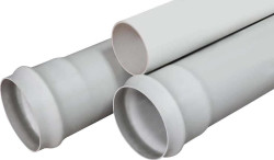 - 125 MM PN 20 PVC PRESSURE PIPES FOR DRINKING WATER