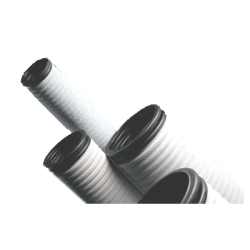 - 200MM SN4 HDPE CORRUGATED GEOTEXTILE COVERED DRANAIGE PIPE