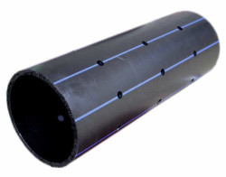 - 225MM PN 10 HDPE PERFORATED PIPE