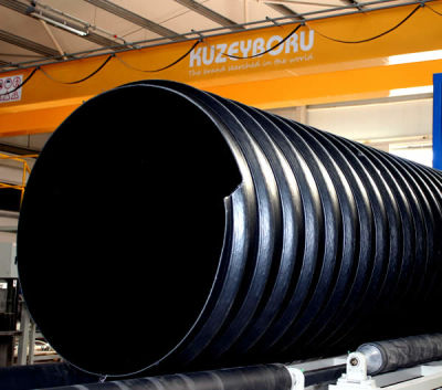 2400 MM SN 16 STEEL REINFORCED CORRUGATED PIPE