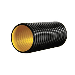 - 250MM SN 4 HDPE CORRUGATED PIPE