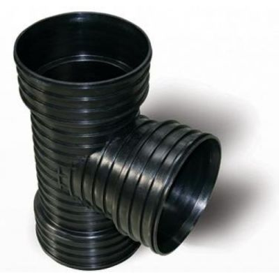 400MM CORRUGATED EQUAL TEE