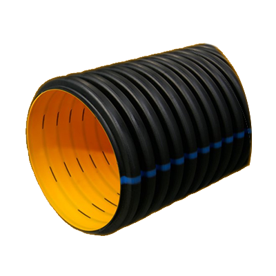 400MM SN 8 PERFORATED DRAINAGE CORRUGATED PIPE