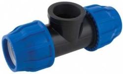 - 50-50MM HDPE COUPLING FEMALE ADAPTER