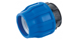 - 50MM HDPE COUPLING END CAP
