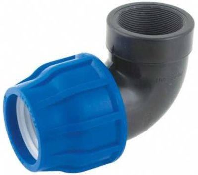 63MM HDPE COUPLING FEMALE ELBOW