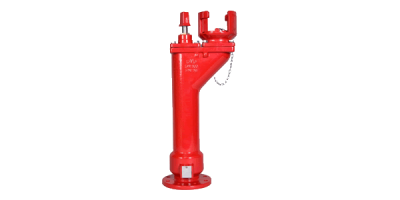 80MM 125 CM OVERGROUND FIRE HYDRANT