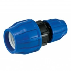 - 90-75MM HDPE COUPLING REDUCER COUPLER