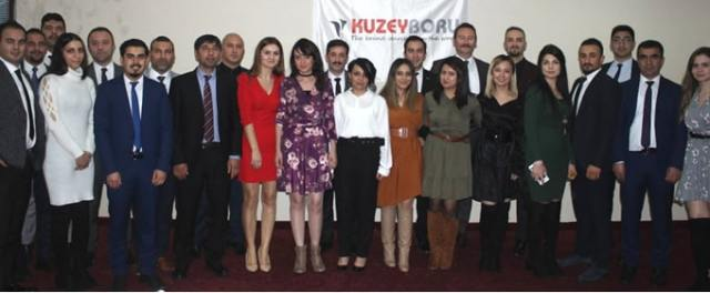 The 2019 Target meeting of KUZEYBORU was held in kaya Palazzo Golf Resort in Antalya