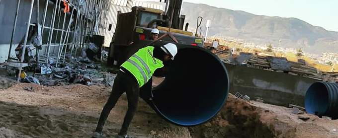 Kuzeyboru-corrugated-drainage-pipe